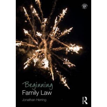 Beginning Family Law by Jonathan Herring, 9781138778610