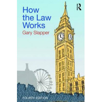How the Law Works by Gary Slapper, 9781138914971