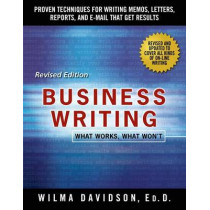 Business Writing by Wilma Davidson, 9781250075499