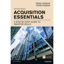 Acquisition Essentials: A step-by-step guide to smarter deals by Denzil Rankine, 9781292000633