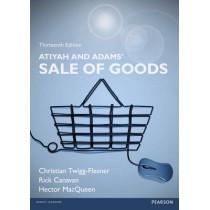 Atiyah and Adams' Sale of Goods by Rick Canavan, 9781292009339