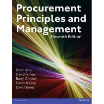 Procurement, Principles & Management by Peter Baily, 9781292016016