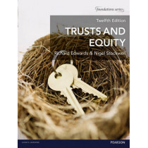 Trusts and Equity by Nigel Stockwell, 9781292017051