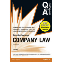 Law Express Question and Answer: Company Law (Q&A revision guide) by Fang Ma, 9781292067308
