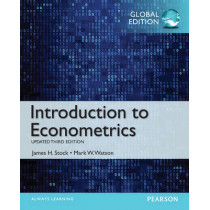 Introduction to Econometrics, Update, Global Edition by James H. Stock, 9781292071312