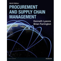 Procurement and Supply Chain Management by Kenneth Lysons, 9781292086118
