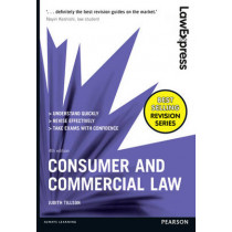 Law Express: Consumer and Commercial by Judith Tillson, 9781292086972