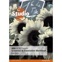 Studio AQA GCSE French Grammar and Translation Workbook by Stuart Glover, 9781292132884