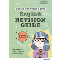 Revise Key Stage 2 SATs English Revision Guide - Expected Standard by Giles Clare, 9781292146010