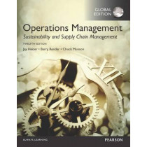 Operations Management: Sustainability and Supply Chain Management, Global Edition by Jay Heizer, 9781292148632