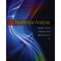 Numerical Analysis by Richard Burden, 9781305253667