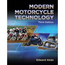 Modern Motorcycle Technology by Edward Abdo, 9781305497450