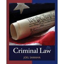 Criminal Law by Joel Samaha, 9781305577381