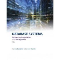 Database Systems: Design, Implementation, & Management by Steven Morris, 9781305627482