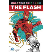 Flash: An Adult Coloring Book by N/A, 9781401270063