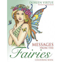 Messages from the Fairies Colouring Book by Norma J. Burnell, 9781401952020