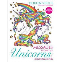Messages from the Unicorns Coloring Book by Doreen Virtue, 9781401952891