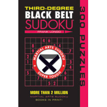 Third-Degree Black Belt Sudoku (R) by Frank Longo, 9781402746499