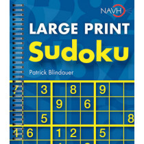 Large Print Sudoku by Patrick Blindauer, 9781402773532