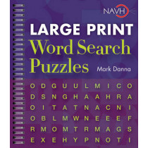 Large Print Word Search Puzzles by Mark Danna, 9781402777349