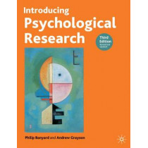 Introducing Psychological Research by Phil Banyard, 9781403900388