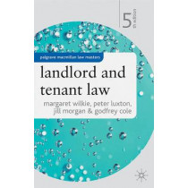 Landlord and Tenant Law by Margaret Wilkie, 9781403917546