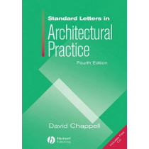 Standard Letters in Architectural Practice by David Chappell, 9781405179652