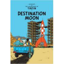 Destination Moon by Herge, 9781405208154