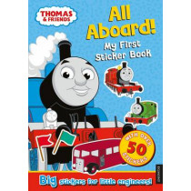 Thomas the Tank Engine All Aboard! My First Sticker Book by Egmont Publishing UK, 9781405276559