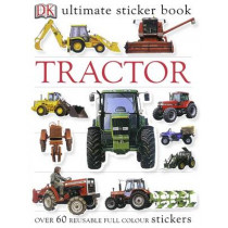 Tractor Ultimate Sticker Book by DK, 9781405304467