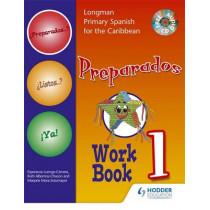 Preparados Listos Ya! (Primary Spanish) Workbook 1 by Esperenza Luengo-Cervera, 9781405827799