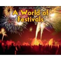 A World of Festivals by Rebecca Rissman, 9781406229004