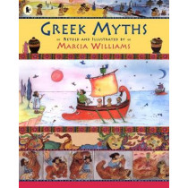 Greek Myths by Marcia Williams, 9781406303476
