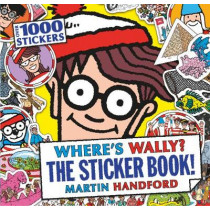 Where's Wally? The Sticker Book! by Martin Handford, 9781406362114