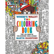 Where's Wally? The Colouring Book by Martin Handford, 9781406367300