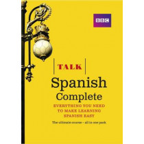 Talk Spanish Complete (Book/CD Pack): Everything you need to make learning Spanish easy by Almudena Sanchez, 9781406679243