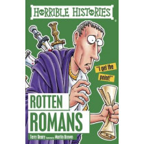 Rotten Romans by Terry Deary, 9781407163840
