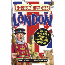 Gruesome Guides: London by Terry Deary, 9781407165547