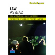 Revision Express AS and A2 Law by Chris Turner, 9781408206591
