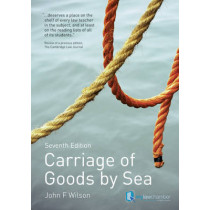Carriage of Goods by Sea by John Wilson, 9781408218938