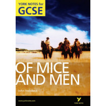 Of Mice and Men: York Notes for GCSE (Grades A*-G) by Martin Stephen, 9781408248805