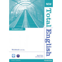 New Total English Elementary Workbook with Key and Audio CD Pack by Diane Hall, 9781408267332