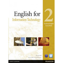 English for IT Level 2 Coursebook and CD-ROM Pack by David Hill, 9781408269909