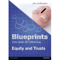 Blueprints: Equity and Trusts by John Duddington, 9781408277294