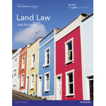 Land Law by Paul Richards, 9781408287385
