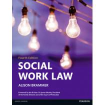 Social Work Law by Alison Brammer, 9781408294055