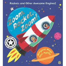Awesome Engines: Zoom, Rocket, Zoom! by Margaret Mayo, 9781408312513