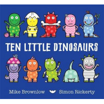 Ten Little Dinosaurs by Mike Brownlow, 9781408334010