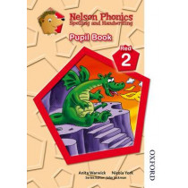 Nelson Phonics Spelling and Handwriting Pupil Book Red 2 by Anita Warwick, 9781408506066