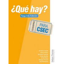 ?Que Hay? Cuaderno CSEC (R) by Christine Haylett, 9781408523735